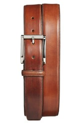 Men's Santoni Leather Belt