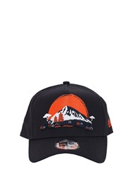 New Era Far East Trucker Baseball Hat Black