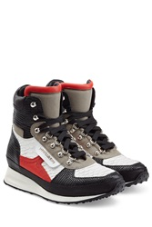 Dsquared2 Leather Boots Multicolor