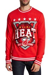 Mighty Fine Heat Star Crest Sweatshirt Red