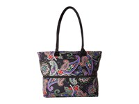 Vera Bradley Lighten Up Expandable Travel Tote Kiev Paisley Tote Handbags Multi