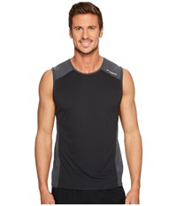 Brooks Stealth Sleeveless Black Asphalt Workout