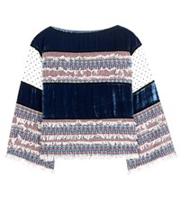 See By Chloe Cotton Blend Top Multicoloured