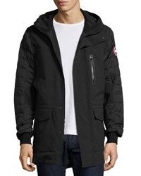 Canada Goose Selwyn Quilted Puffer Coat Black