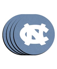 Memory Company North Carolina Tar Heels 4 Pack Coaster Set Team Color
