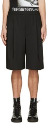 Mcq By Alexander Mcqueen Black Murphy Track Shorts
