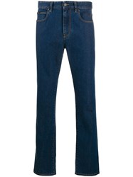 Z Zegna Mid Rise Straight Leg Jeans 60