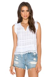 Gypsy 05 Keyhole Top White