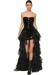 Redemption Sequined Evening Gown Black