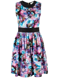 Almari Water Floral Dress Multi