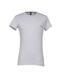 Just Cavalli Underwear Underwear Undershirts Men Light Grey