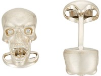 Deakin And Francis Skull Cufflinks Silver