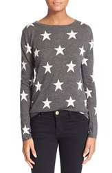 Women's Banjo And Matilda Star Intarsia Knit Cashmere Sweater