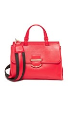 Cynthia Rowley Hudson Mini Top Handle Satchel Red