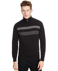 Kenneth Cole Reaction Half Zip Sweater
