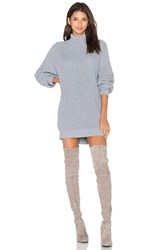 Lovers Friends Christina Sweater Dress Gray