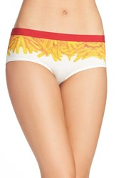 Naja Women's Lingerie Stretch Cotton Briefs French Fry