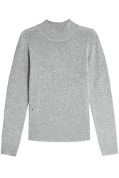 81 Hours Pullover With Superfine Wool And Cashmere Grey
