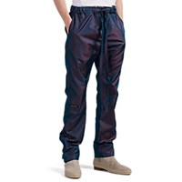 Fear Of God Iridescent Tech Twill Drawstring Jogger Pants Blue