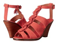 Tommy Bahama Palrinna Wedge Poinciana Women's Wedge Shoes Orange