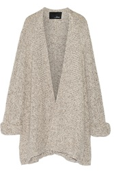 Line Cooper Knitted Cardigan Gray