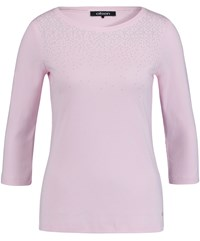 Olsen Sweet Embellished Top Pink