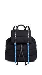 Sam Edelman Branwen Flap Backpack Black Blue