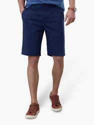 Joules Swanmore Leaf Print Chino Shorts Blue Navy Palm