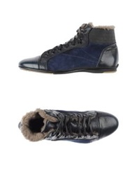 Alexander Hotto High Tops And Trainers Dark Blue