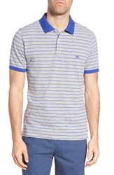 Rodd And Gunn Men's Kempthorne Sports Fit Stripe Pique Polo