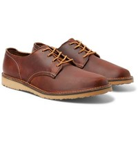 Red Wing Shoes Weekender Leather Derby Brown