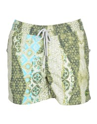 F K Project Swim Trunks Green