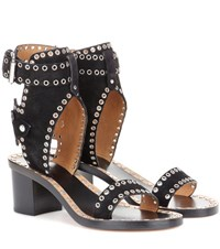 Isabel Marant Exclusive To Mytheresa.Com Jaeryn Embellished Suede Sandals Black