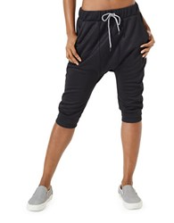 Mpg Julianne Hough Extra Cropped Jogger Pants Black