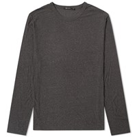 Alexander Wang T By Long Sleeve Classic Tee Grey