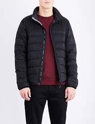 Canada Goose Brookvale Quilted Shell Jacket Black Graphite
