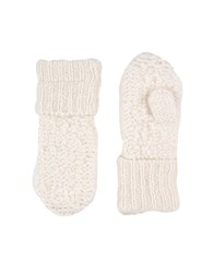 Maison Martin Margiela Mm6 By Gloves White