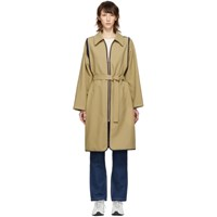 See By Chloe Beige Double Faced Trench Coat