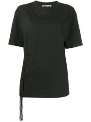 Mcq By Alexander Mcqueen Tassel Detailed T Shirt Black
