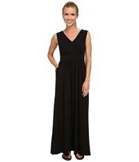 Exofficio Go To Maxi Dress Black Women's Dress