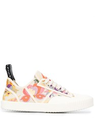 Etro Low Top Sneakers White