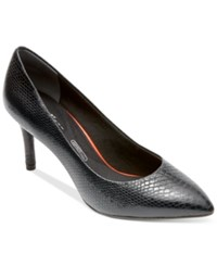 Rockport Women's Total Motion Pointed Toe Pumps Women's Shoes Nero