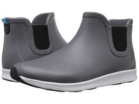 Native Apollo Rain Dublin Grey Shell White Jiffy Black Rubber Rain Boots Gray