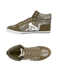 Drunknmunky Sneakers Military Green