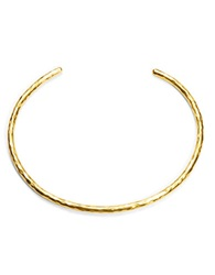 Herve Van Der Straeten Sculpted Choker Necklace Gold