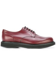 Church's Lace Up Shoes Red