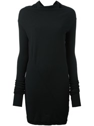 Rick Owens Drkshdw Long Sleeve T Shirt Black