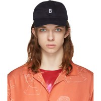 Band Of Outsiders Navy 'B' Cap