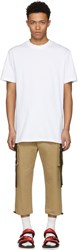 D By D White Two Tapes T Shirt