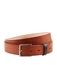 Paul Smith Burnished Leather Belt Unisex Beige